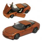 2009 Corvette Atomic Orange Limited Edition 1:24 Diecast