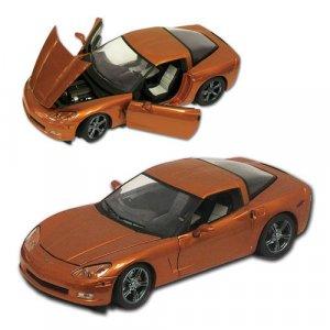 2009 Corvette Atomic Orange Limited Edition 1:24 Diecast