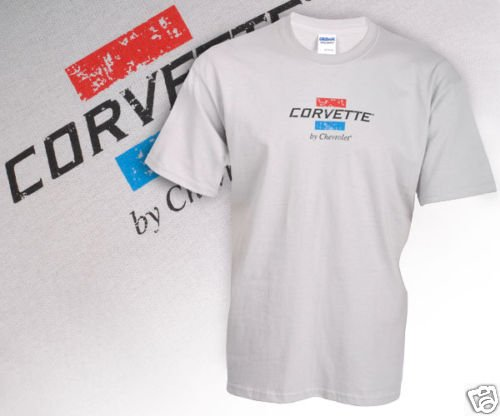 Corvette by Chevrolet Grey Heather T-Shirt - M