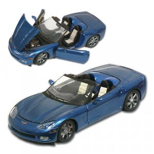 2009 Corvette Jetstream Blue Limited Ed. 1:24 Diecast