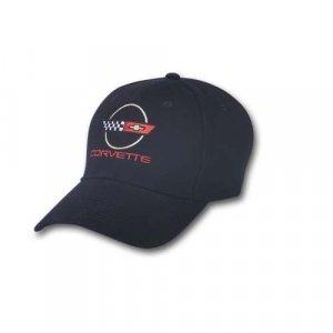 C4 Corvette Emblem Black Hat
