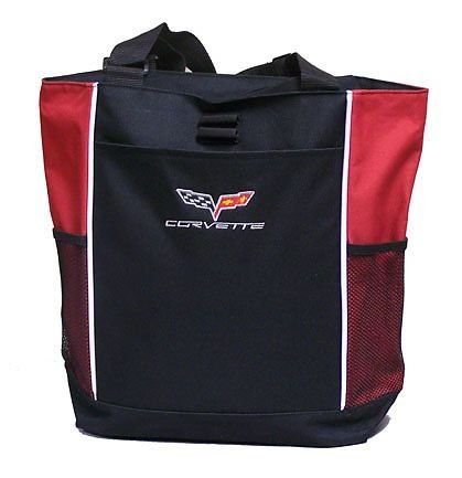 C6 Corvette Tote Bag - Red
