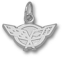 C5 Corvette Sterling Silver Pendant