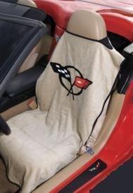 C5 Corvette Seat Armour 100% Cotton Seat Tan Cover