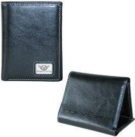 Corvette C5 Wallet - Black Leather
