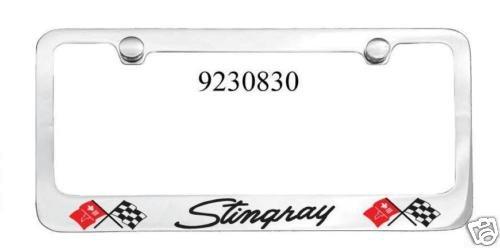 C3 Corvette Stingray Engraved License Plate Frame