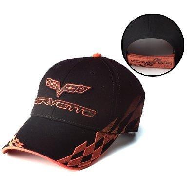 C6 Corvette Bad Vette Hat - Orange