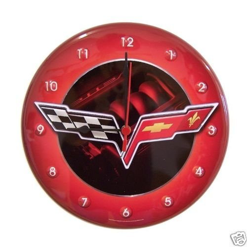 C6 Corvette Tin Clock