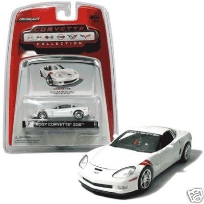 2007 Arctic White ZO6 Corvette Special Ed. 1:64 Diecast