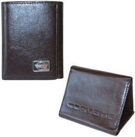 Corvette C4 Wallet - Brown Leather
