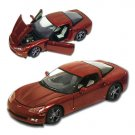 2009 Corvette Crystal Red Limited Edition 1:24 Diecast