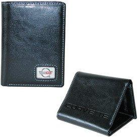 Corvette C4 Wallet - Black Leather