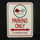 C3 1973-1982 Corvette Parking Only Sign