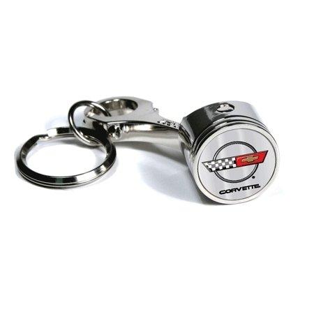 C4 Corvette Piston Keychain