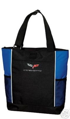 C6 Corvette Tote Bag - Blue