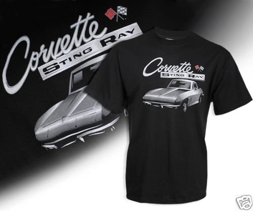 C2 Corvette Black Shadow T-Shirt - L