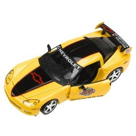 2005 Daytona 500 Yellow and Black C6 Corvette 1:24 Diecast