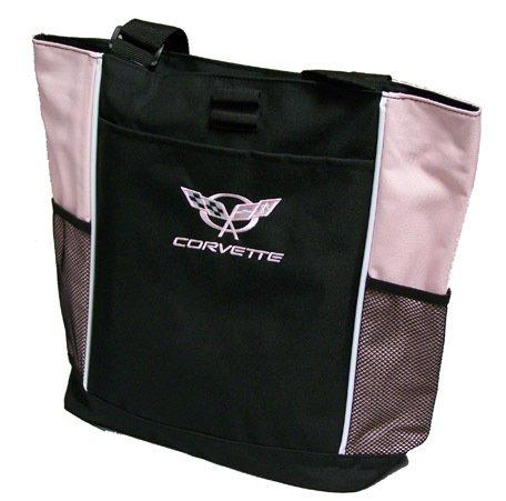 C5 Corvette Tote Bag - Pink
