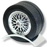 Wheel and Tire Drink Coaster Set