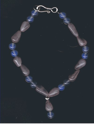 Rose Quartz and Moonstone Bracelet !