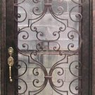 "Wrought Iron Doors 39 1/2"" x 97 1/2"""