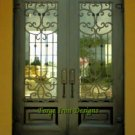 "Wrought Iron Door. 75 1/2"" x 97 1/2"""