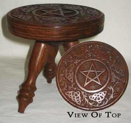 Altar Table: Pentagram