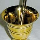 Brass Mortar and Pestle SM