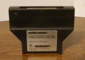 MOON PATROL by ATARI SOFT for Texas Instruments TI 99/4A  Computer 1983