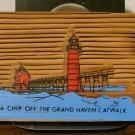 A Chip Off The Grand Haven Catwalk - circa 1987