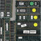 PC 100 Computer Legacy Memory  Lot of 13  Worked When Removed
