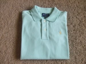 Polo Ralph Lauren Girls' Light Blue t-shirt Size XL