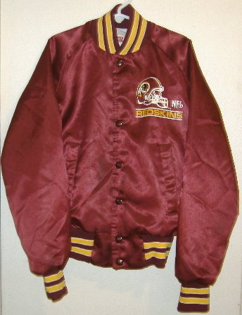 WASHINGTON REDSKINS Boys Jacket Size 10/12