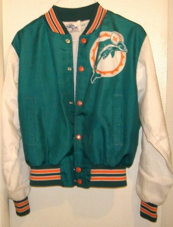 MIAMI DOLPHINS Boys Jacket Size 14/16