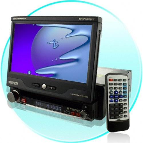 "Pantalla 7"" DVD/TV/BLUETOOTH/SD/USB/SUBWOOFER  + ANTENA"