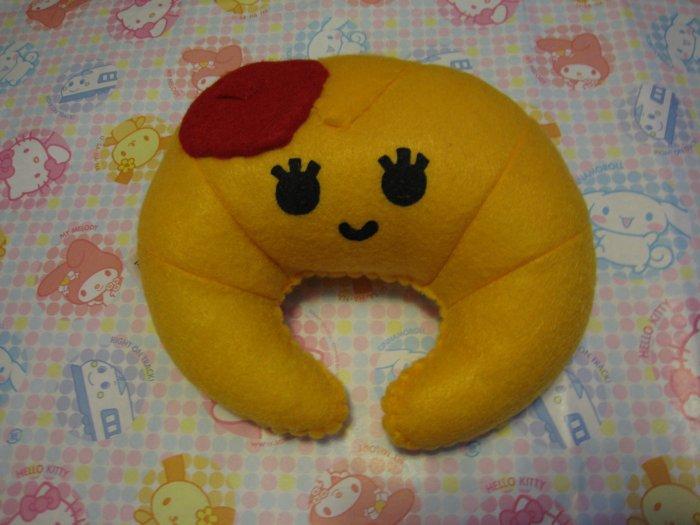 Croissant Plush Toy