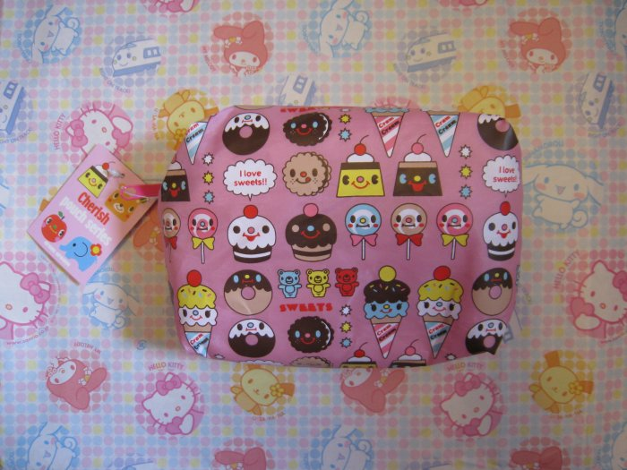 Cram Cream Cupcake & Sweets Pouch