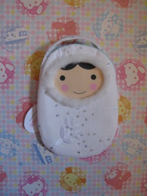 Snow Angel Cell Phone Pouch
