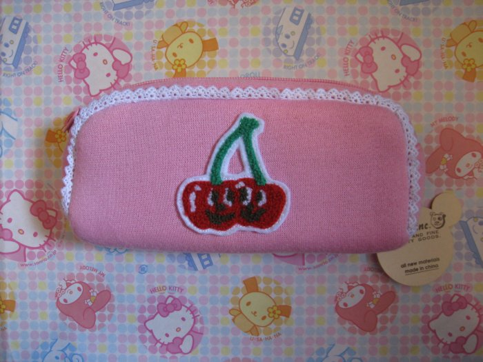 Gladee Inc. Cherry Twins Pencil Case