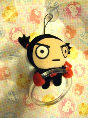Pucca's Garu Plush Towel Holder