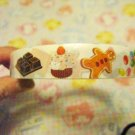 Cram Cream Deco Tape - Sweets (White)