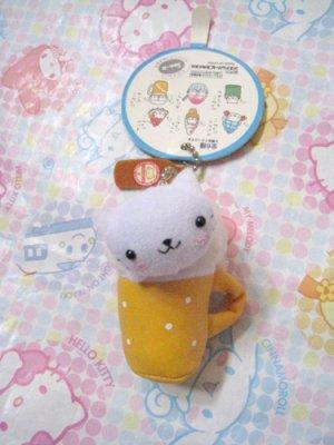 San-X Nyanko Beer Mini Plush Mascot