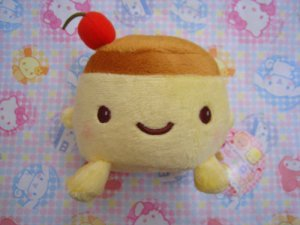 Japanese Purin Pudding Plush - Cellphone Holder
