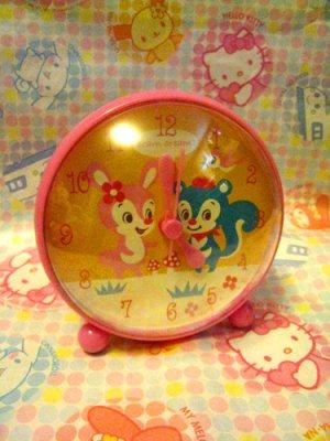 Cram Cream Bunny & Squirrel Clock