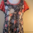 NWT $58 Anthropologie Little Yellow Button Floral Top S