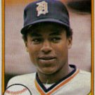 LOU WHITAKER 1981 FLEER #463 Detroit Tigers MLB
