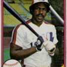 ANDRE DAWSON 1981 FLEER #145 Chicago Cubs Expos MLB