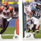 Brian Westbrook 2008 UPPER DECK 174 Philadelphia Eagles