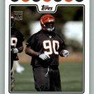 PAT SIMS 2008 TOPPS #396 Cincinnati Bengals