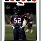 XAVIER ADIBI 2008 TOPPS #419 Houston Texans NFL